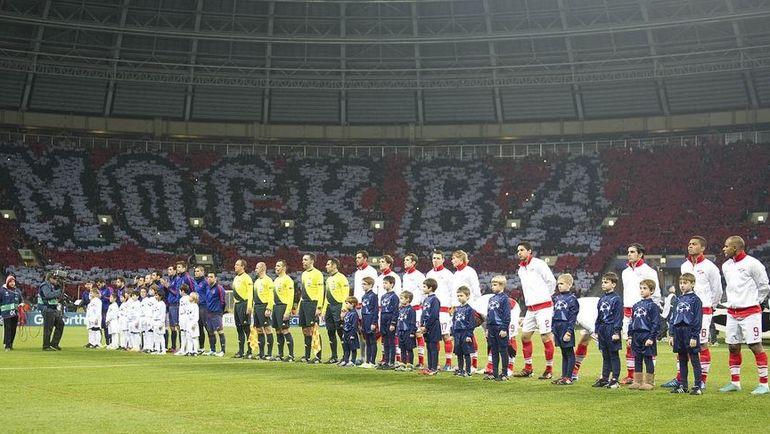 Лига чемпионов пополнит клубную казную красно-белых. Фото Алексей ИВАНОВ