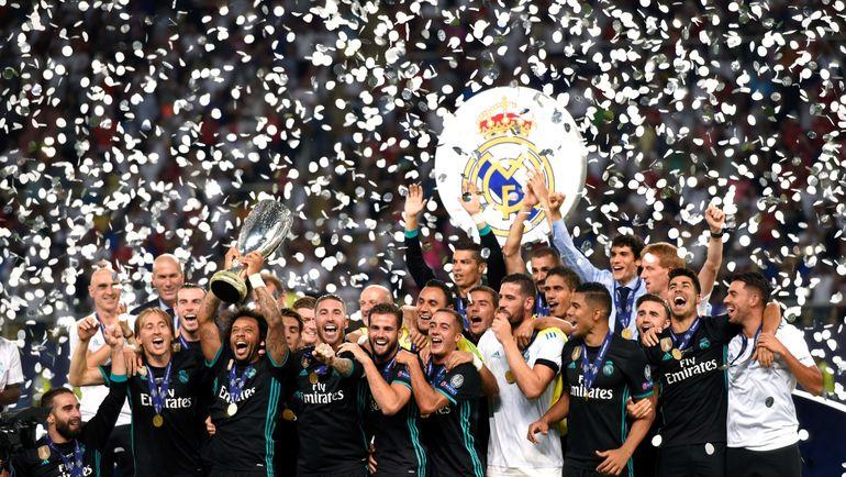 """Реал"" победил ""МЮ"" в споре за Суперкубок. Фото AFP"