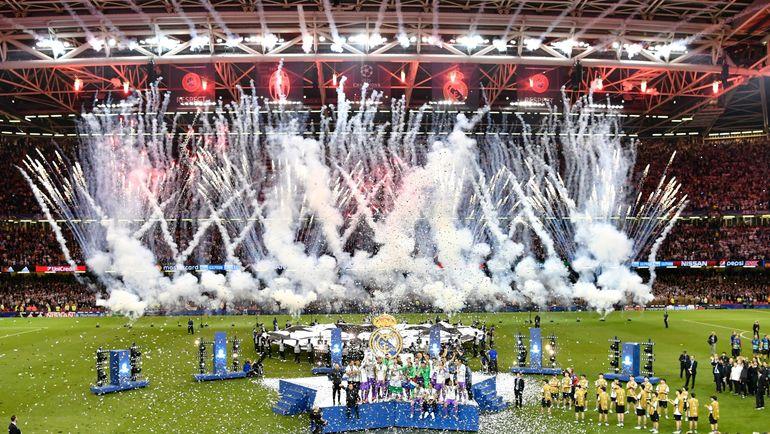 """""""Реал"""" может стать первым клубом, который выиграл современную Лиги чемпионов даже не два, а три раза подряд. Фото AFP"""