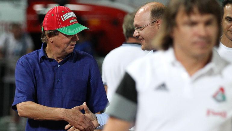 Юрий СЕМИН (слева) и Илья ГЕРКУС. Фото Виталий ТИМКИВ
