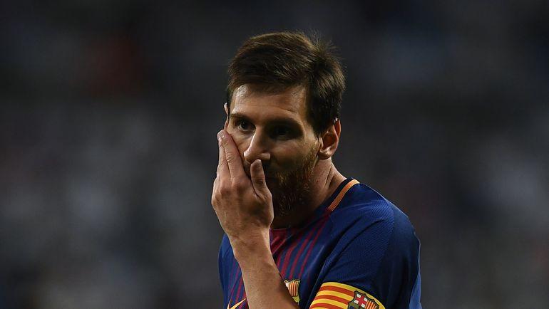 """Капитан """"Барселоны"""" Лионель МЕССИ. Фото AFP"""