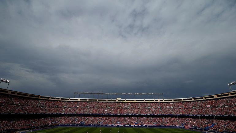 """""""Атлетико"""" попрощался со стадионом """"Висенте Кальдерон"""". Фото AFP"""