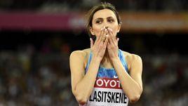 Чемпионка мира Мария ЛАСИЦКЕНЕ.