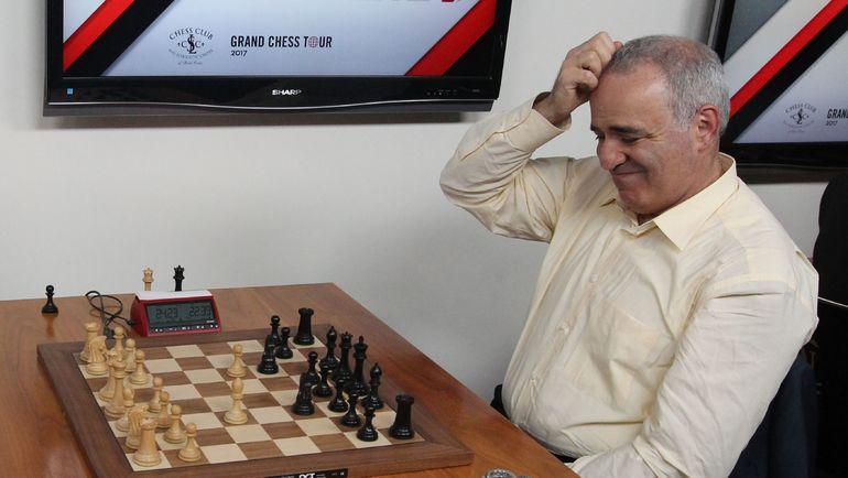 Каспаров разыгрался к концу турнира