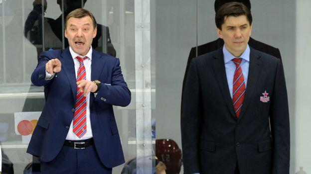 Олег ЗНАРОК и Игорь НИКИТИН. Фото «СЭ»
