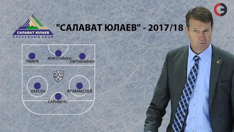 """""""Салават Юлаев""""-2017/18. Фото """"СЭ"""""""