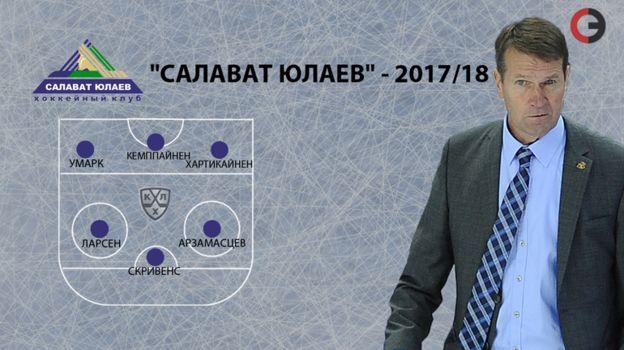 """""""Салават Юлаев""""-2017/18. Фото «СЭ»"""