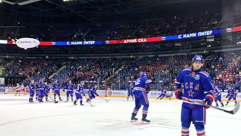СКА ударно начал стартовый матч сезона. Фото ХК СКА/hcSKA