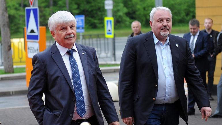 Геннадий ВЕЛИЧКИН и Кирилл ФАСТОВСКИЙ. Фото Алексей ИВАНОВ