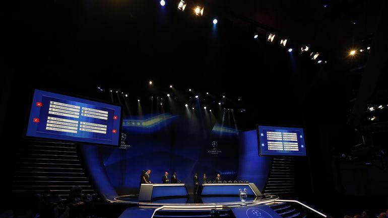 Жеребьевка Лиги чемпионов. LIVE! Фото AFP
