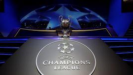Жеребьевка Лиги чемпионов. LIVE!