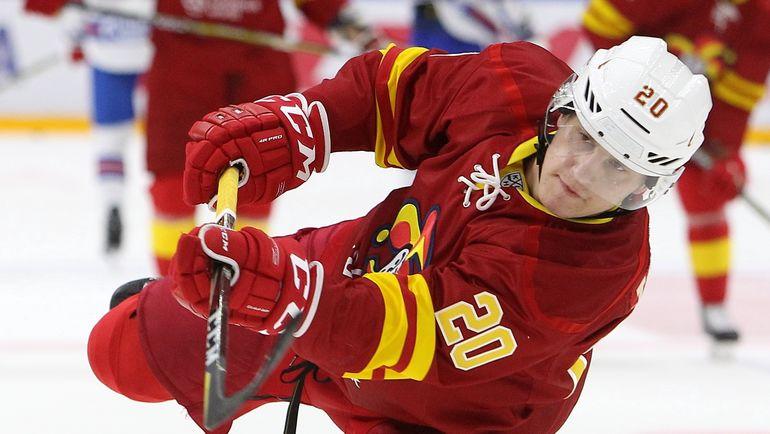 Восходящая звезда финского хоккея Эли ТОЛВАНЕН. Фото photo.khl.ru