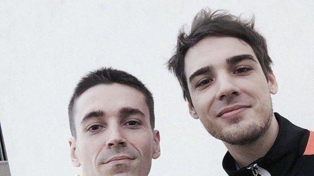 """Антон """"Cooller"""" Синьгов (слева) и Алексей """"Cypher"""" Янушевский."""