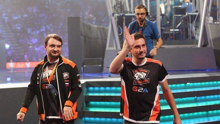 """Павел """"9Pasha"""" Хвастунов и Алексей """"Solo"""" Березин (справа). Фото Virtus.pro"""