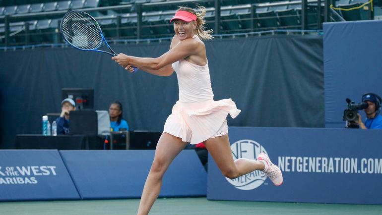 Мария ШАРАПОВА получила в соперницы по первому кругу US Open Симону ХАЛЕП. Фото USA TODAY Sports