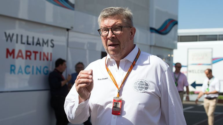 """Спортивный директор """"Формулы-1"""" Росс БРАУН. Фото AFP"""