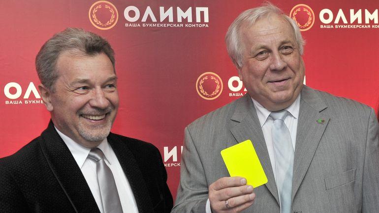 """Андрей БУТЕНКО (слева) и Андрей БУДОГОССКИЙ. Фото Федор УСПЕНСКИЙ, """"СЭ"""""""