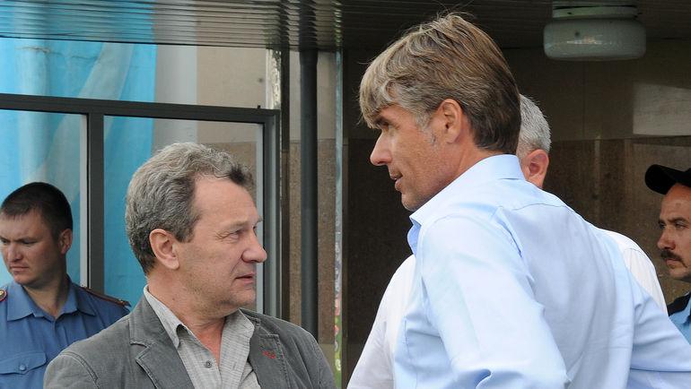 Андрей БУТЕНКО (слева, с Роберто РОЗЕТТИ). Фото Никита УСПЕНСКИЙ