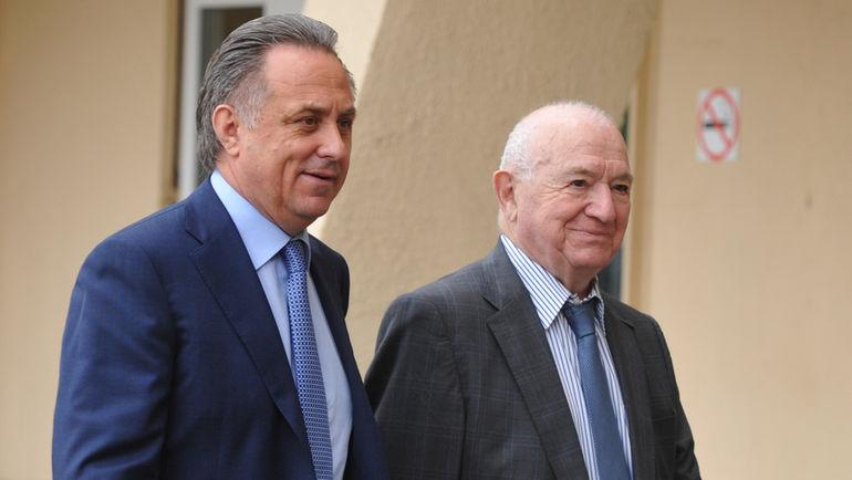 "Никита СИМОНЯН (справа) и Виталий МУТКО. Фото Александр ФЕДОРОВ, ""СЭ"""