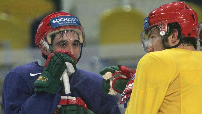 Сыграют ли против друг друга в НХЛ Данис ЗАРИПОВ (слева) и Александр ОВЕЧКИН? Фото Александр ВИЛЬФ