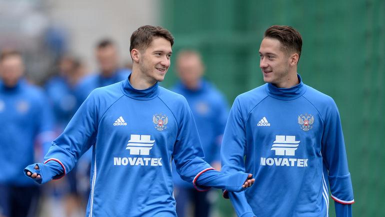 """Алексей (слева) и Антон МИРАНЧУКИ. Фото Дарья ИСАЕВА, """"СЭ"""""""