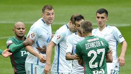 """Артем ДЗЮБА (второй слева) и """"Локомотив"""": скорее всего, этим летом сделка не состоится."""