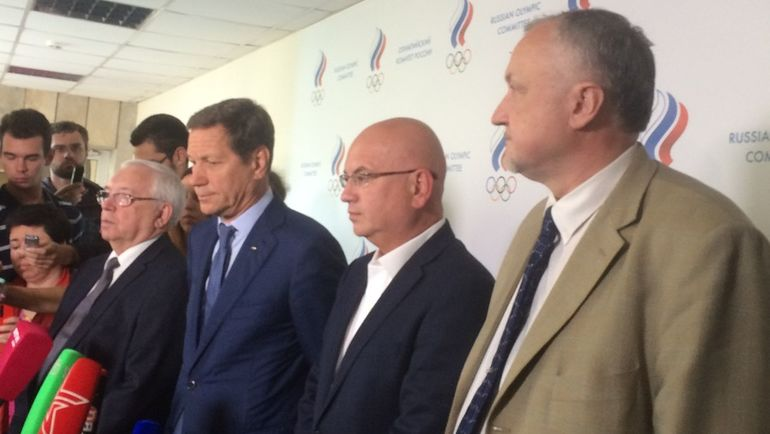 Юрий ГАНУС (крайний справа). Фото Наталья МАРЬЯНЧИК, «СЭ»