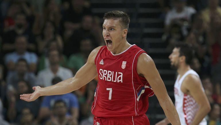 Вокруг Богдана БОГДАНОВИЧА будет строиться игра сербов. Фото REUTERS