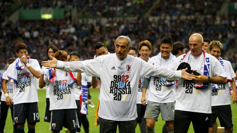 Вахид ХАЛИЛХОДЖИЧ и его команда. Фото REUTERS