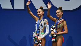Среда. Пезаро. Дина (слева) и Арина АВЕРИНЫ.
