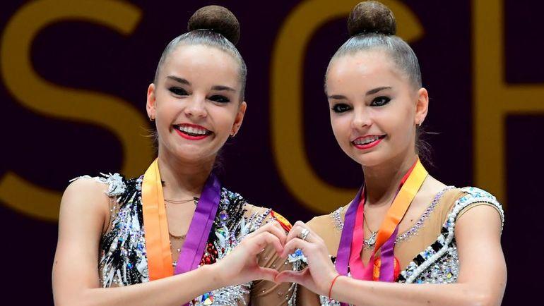 Дина (слева) и Арина АВЕРИНЫ. Фото AFP
