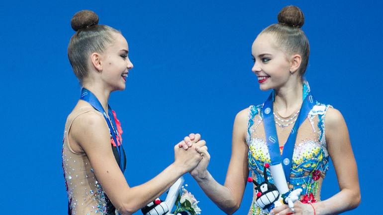 """Дина АВЕРИНА (слева) и Арина АВЕРИНА. Фото Елена СОБОЛЬ, """"СЭ"""""""