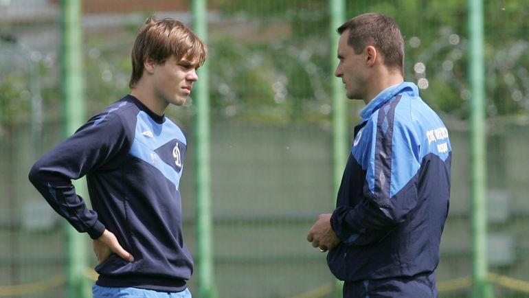 2009 год. Александр КОКОРИН (слева) и Андрей КОБЕЛЕВ. Фото Татьяна ДОРОГУТИНА