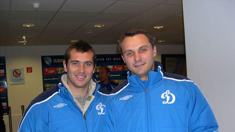2008 год. Александр КЕРЖАКОВ (слева) и Андрей КОБЕЛЕВ. Фото Константин АЛЕКСЕЕВ