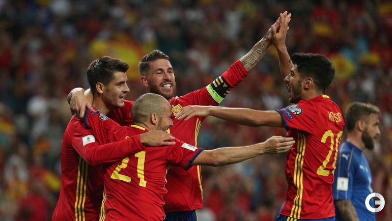 Вчера. Мадрид. Испания - Италия - 3:0.