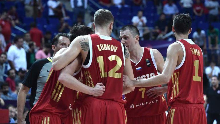 Россия на Евробаскете: две победы в двух матчах. Фото AFP