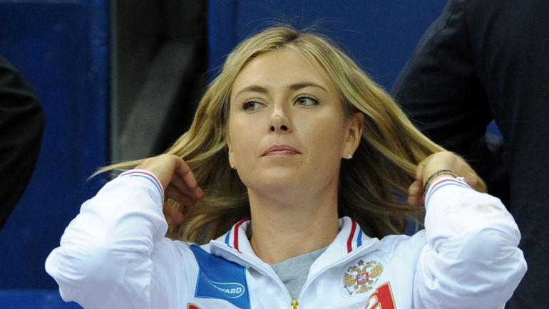 Марию ШАРАПОВУ ждут в России. Фото Никита УСПЕНСКИЙ