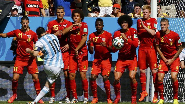Чемпионат мира-2014 завершился для Бельгии поражением от Аргентины в четвертьфинале. Фото REUTERS