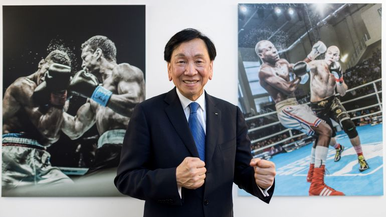 Президент Международной ассоциации бокса (AIBA) Чинг Куо ВУ. Фото AFP