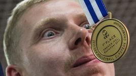 Как встречали чемпионов Европы