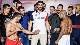 Ахмед АЛИЕВ (слева) и Диего БРАНДАО.