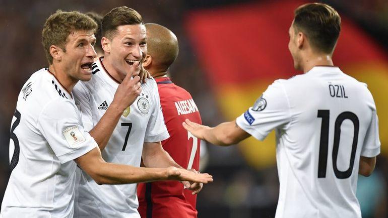 Понедельник. Штутгарт. Германия - Норвегия - 6:0. Кто остановит команду Йоахима Лева? Фото AFP