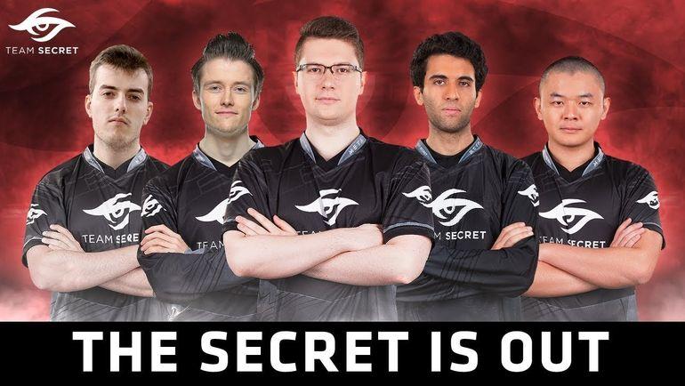 Team Secret. Фото RuHub