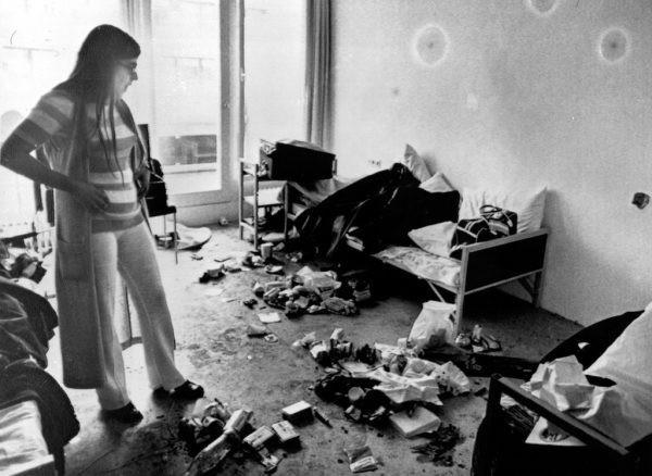 Комната, где удерживали заложников.