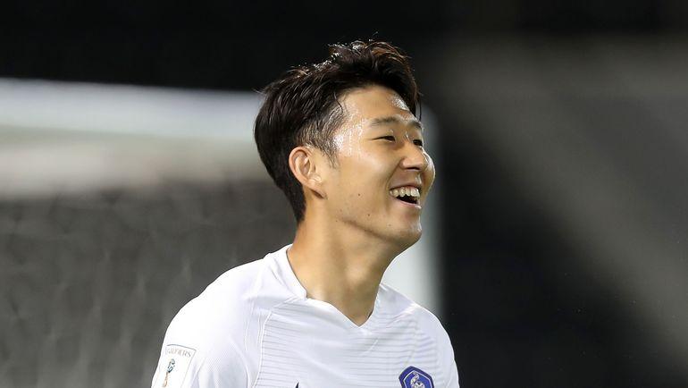 СОН ХЫН МИН - лидер сборной Кореи. Фото AFP