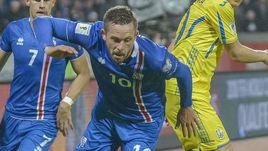 Вчера. Рекьявик. Исландия - Украина - 2:0. В атаке Гилфи СИГУРДССОН.