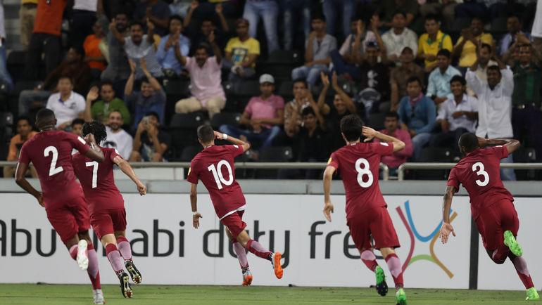 Сборная Катара будет ждать домашнего ЧМ-2022. Фото REUTERS