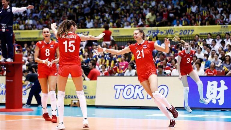 Сегодня. Токио. Россия - Япония - 3:1. Российские волейболистки одержали первую победу на Всемирном кубке чемпионов. Фото fivb.org