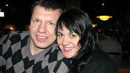 Вера КОРОЛЕВА с мужем.