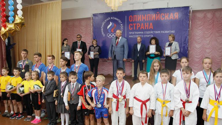 """Участники """"Олимпийского патруля"""" в Омске. Фото ОКР"""